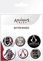 Assassins Creed Button Badge Set / アサシン グリード ボタン バッジ セット