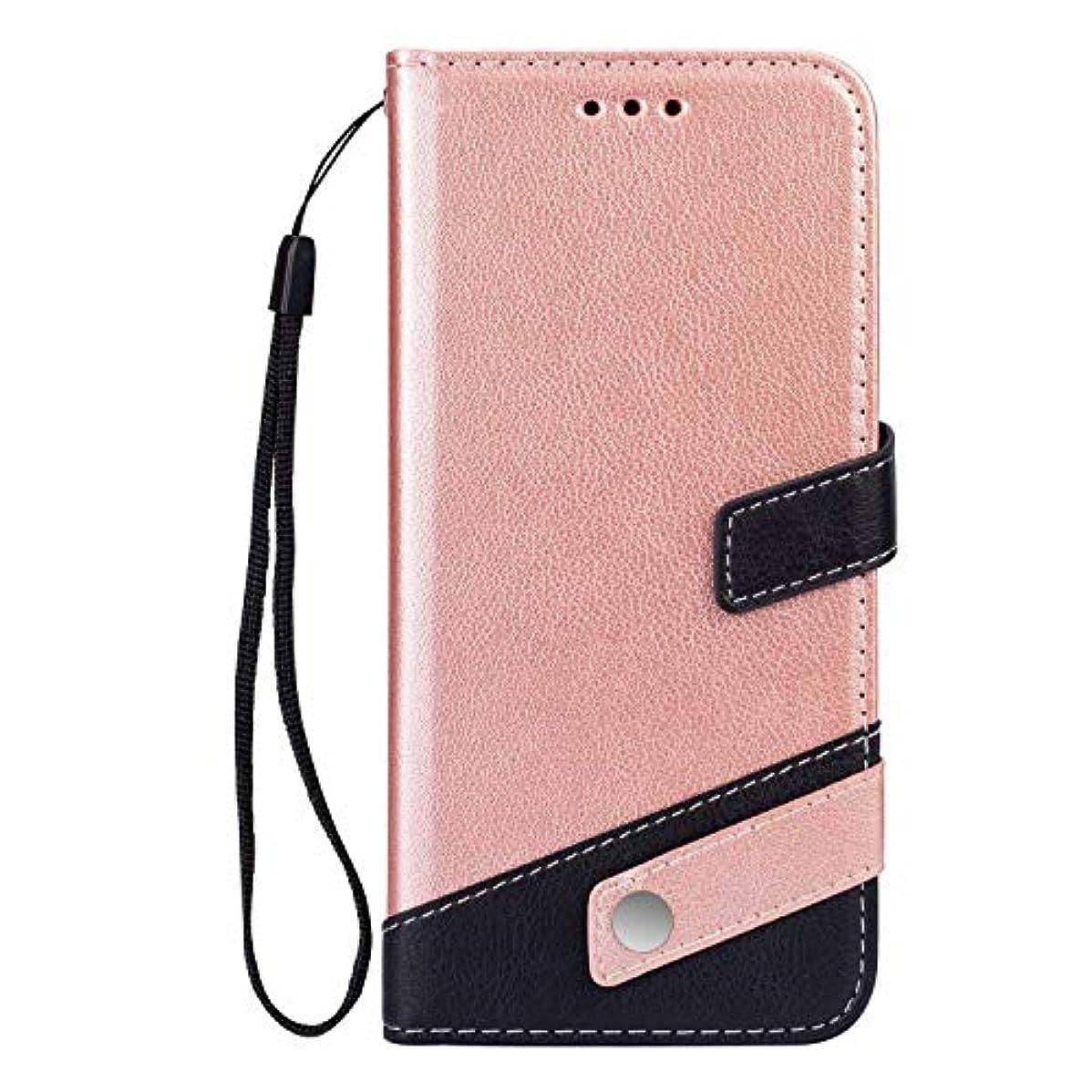 哀れな砂反論Galaxy S10 ケース OMATENTI 手帳型ケース PUレザー 磁石タイプ ストラップホール付き 全面保護 液晶保護 耐衝撃 財布型 耐久性 薄型 スマホケース, ピンク
