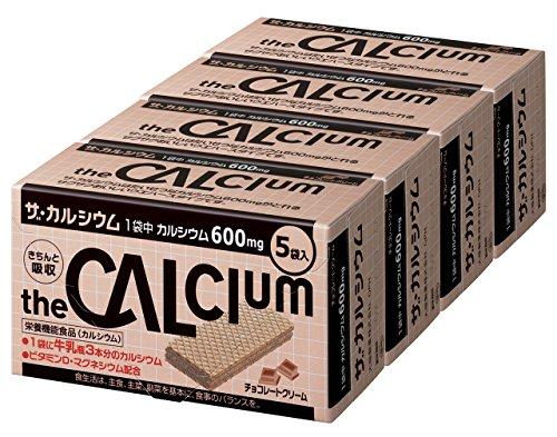 大塚製薬 ザ・カルシウム チョコレートクリーム (11.2g×5袋)×4箱