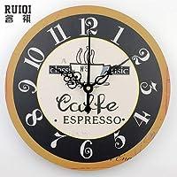 壁掛け時計 クロック リビングルームの壁の装飾クォーツ時計ファッション防水時計の文字盤の家の装飾現代のサイレントウォールクロックギフト、スタイル13,16インチ、14インチ、スタイル12