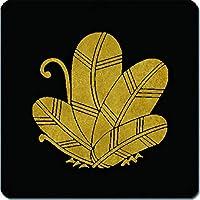 家紋 マウスパッド 鷹の羽蝶紋 15cm x 15cm KM15-2188