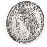 【手品グッズ】 マジックコインシェル シェルコイン スーパーモーガンダラー コイン消える変わる 直径3.8cmコイン対応 2個セット