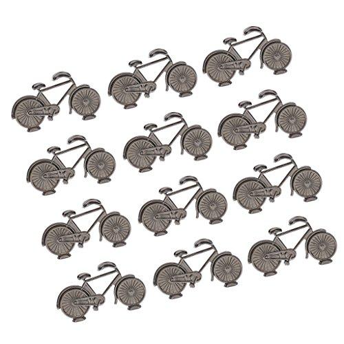 [해외]SONONIA 12 개들이 자전거 디자인 번호 플레이스 카드 홀더 웨딩 파티 테이블 장식/SONONIA 12 pieces Bicycle Design Number Place Card Holder Wedding Party Table Decoration