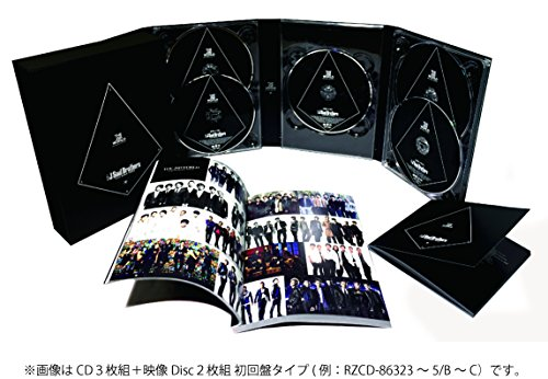 THE JSB WORLD(AL3枚組+DVD2枚組) 三代目 J Soul Brothers from EXILE TRIBE rhythm zone