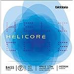D'Addario ダダリオ ウッドベース(コントラバス)用 バラ弦 Helicore Hybrid D-String HH612 1/2M Medium Tension 【国内正規品】