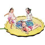ZAYAR 噴水マット プール プレイマット 芝生遊び 噴水おもちゃ 水遊び 夏の日 子供用 おもちゃ 噴水池 噴水できるマット