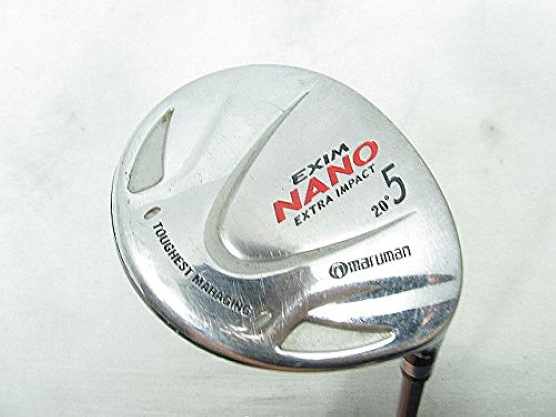 【中古品】マルマン フェアウェイウッド エクシム NANO Extra Impact フェアウェイ オリジナルカーボン 5W