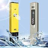 DLAND デジタルPHメーター+ TDSテスター水族館プール水耕水モニター0-9999 PPM