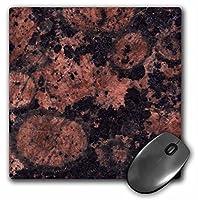 3drose LLC 8x 8x 0.25インチマウスパッド、BalticブラウンGranite印刷( MP _ 97936_ 1)