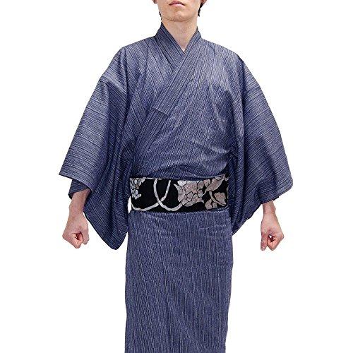 kimono awawa(きもの阿波和) 男性用 阿波しじら織...