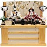 雛人形 親王収納飾り【花ごろも】京十二番 [幅55cm] 平安優香 総檜造り [193to1145-a4] 雛祭り