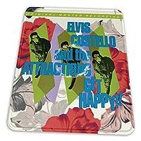 エルビス・コステロ Elvis Costello マウスパッド おしゃれ 防水/洗える ゲーミング&オフィス最適 25.4 X 30.5CM