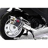 浅倉商事 アドレスV50(O2センサー装着) ZZRタイプマフラー DHタイプ ブラックカーボン