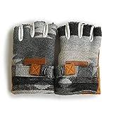 (ジムマスター) gym master フィンガレスグローブ 指ぬき手袋 グローブ 手袋 指ぬき 異素材切替