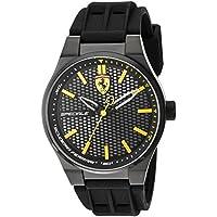 ブラック ユニセックス アナログ カジュアル クォーツ Ferrari 時計 Speciale ???? 0830354