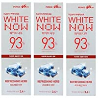 Lg Perioe 46cm Toothpaste Oral Care White Now 93% Refreshing Herb 100g X 3 by perioe