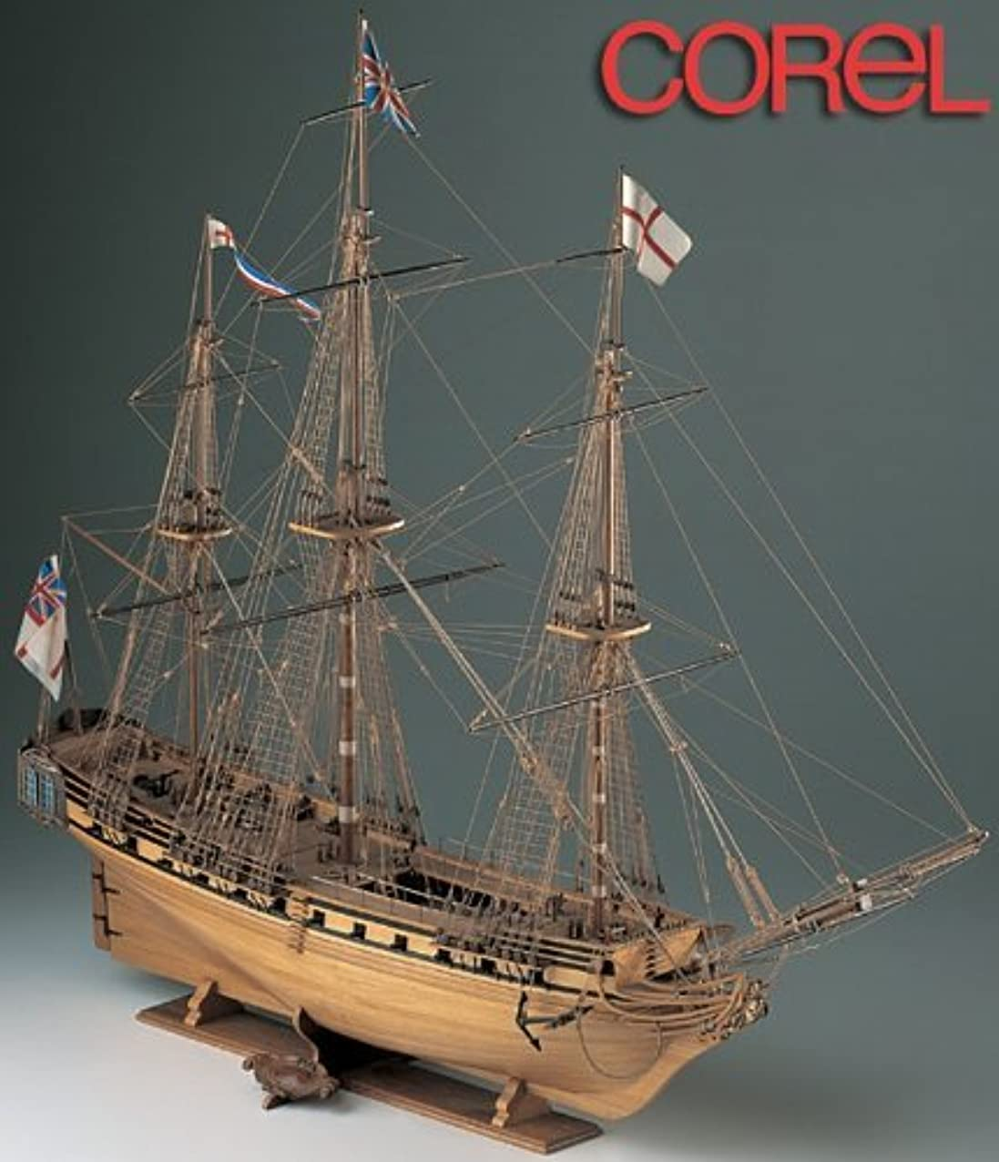 最小化する問い合わせる定義木製帆船模型 コーレル SM11 HMSユニコーン