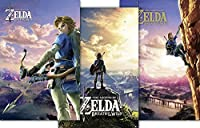 The Legend of Zelda poster Breath Of The Wild Set of 3 (61cm x 91,5cm)