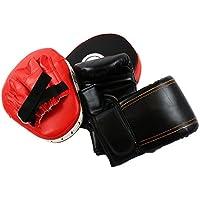 グローブ & パンチングミット 2個セット 湾曲型 格闘技 ボクシング 練習 軽量