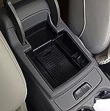 車のグローブボックスアームレストボックス収納ボックスオーガナイザーセンターコンソールトレイ用アウディq5 a4l a3-FOR Q5