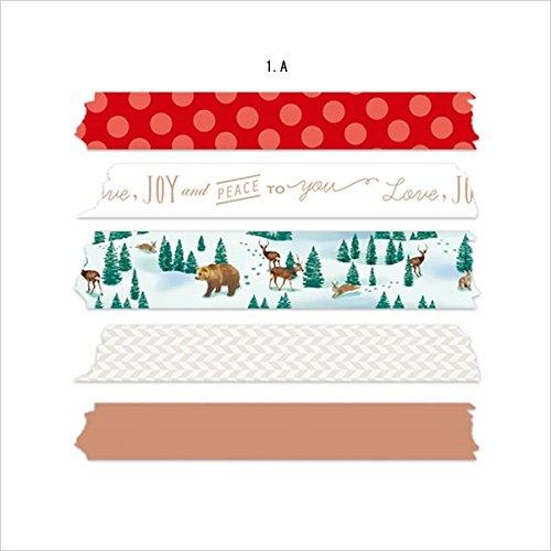 マークス マスキングテープ・クリスマスギフトセット/マステ/B MST-MKT36-B