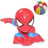 すくい人形 スパイダーマン(10個) 〔ディスク・ウォーズ:アベンジャーズ〕/ お楽しみグッズ(紙風船)付きセット [おもちゃ&ホビー]