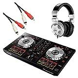Pioneer パイオニア DJ初心者セット Serato DJ Intro 対応 ブラック DDJ-SB + HPX2000