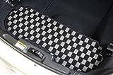 コペン L880K リアラゲッジマット ショートタイプ チェッカータイプ カラー:レッド -