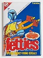 "STAR WARS "" BOBA FETT Cereal Box ""冷蔵庫マグネット( 2x 3インチ)"