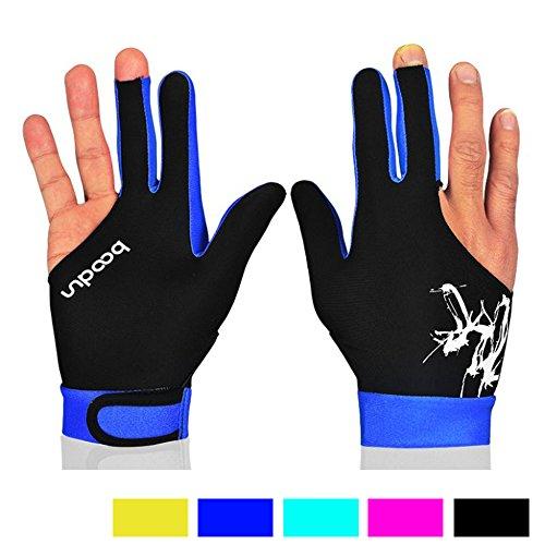 monoii ビリヤード グローブ 3本指 手袋 ユニセックス