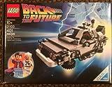 レゴ NEW バックトゥーザフューチャー デロリアン Brand New Lego Cuusoo Ideas Back To The Future Delorean Set 21103 Marty McF..