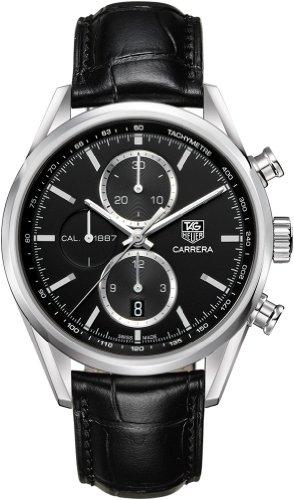 [タグホイヤー]TAGHEUER 腕時計 カレラ 1887 クロノグラフ ブラック CAR2110.FC6266 メンズ [並行輸入品]