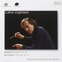 モーツァルト:交響曲第35番ニ長調K.385「ハフナー」、ブルックナー:交響曲第6番イ長調 (Mozart : Symphony No.35 & Bruckner : Symphony No.6 / Zagrosek & Konzerthausorchester Berlin)