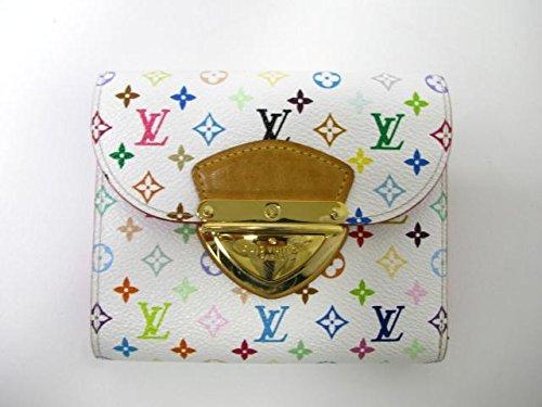 LOUIS VUITTON(ルイヴィトン) マルチカラー ポルトフォイユジョイ 三つ折り財布 M60281 ブロン [中古]