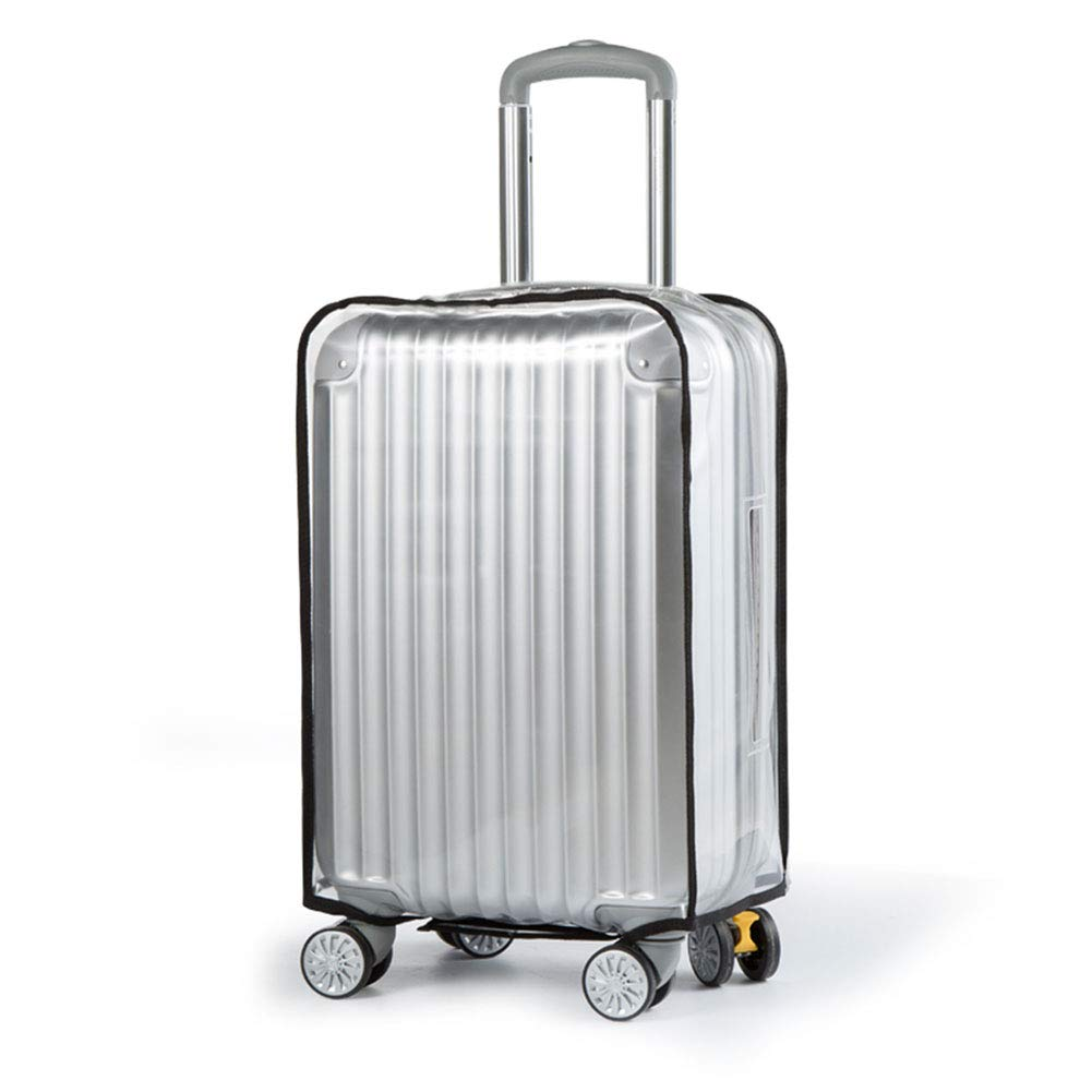 cfafdf3235 Transparent suitcase cover (22, 24, 26, 29 inch) cargo waterproof scratch  stain proof business trip travel luggage cover carry bag clear