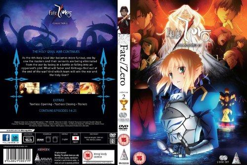 Fate/Zero 第2期 コンプリート DVD-BOX (全12話, 300分) フェイト/ゼロ 虚淵玄 / TYPE-MOON アニメ [DVD] [Import] [PAL, 再生環境をご確認ください]