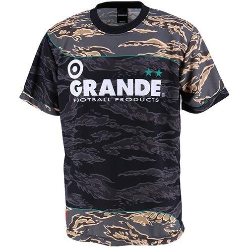 グランデ タイガーカモ プラクティスシャツ ブラック GFPH17013 09 L