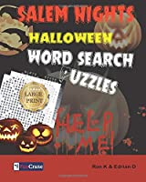 Salem Nights: Halloween Word Search Puzzles