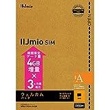IIJmio SIMカード ウェルカムパック (タイプA) ( バンドルクーポンキャンペーン中 4GB増量×3ヵ月間 )【Amazon.co.jp 限定】