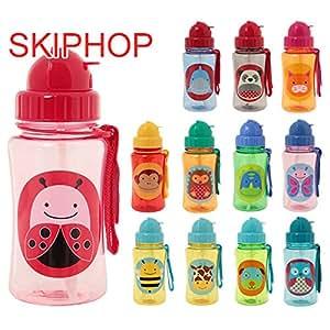 スキップホップ / SKIP HOP Zoo Straw Bottle(:、種類:Shark)