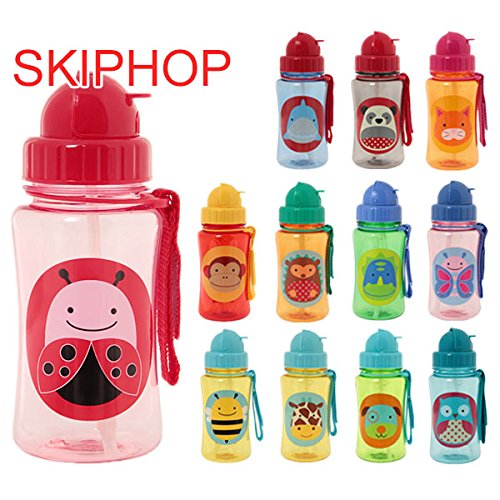 スキップホップ / SKIP HOP Zoo Straw Bottle(:、種類:Shark)