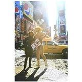 ポストカード「アメリカ ニューヨークタイムズスクエア・Times Square名物おじさん」-絵はがきハガキ