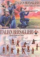 レッドボックスFiguresイタリアBersaglieri Boxer Rebellion 1900( 48-piece ) ( 1/ 72-scale )