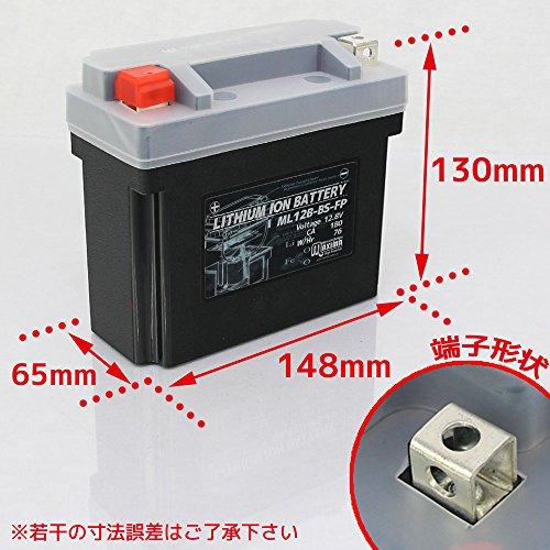 マキシマリチウムイオンバッテリー ML12B-BS-FP ロードサービス付き バイク用 12B-BS SUPERBIKE1198 Diavel MONSTER1200