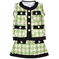 Camidy Baby Infant Toddler Girl Classic Plaid Sleeve Top and Skirt 2pcs Clothes Set