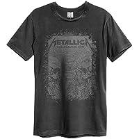 METALLICA メタリカ - THE BLACK ALBUM/Amplified( ブランド )/Tシャツ/メンズ 【公式/オフィシャル】