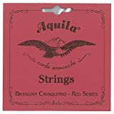 AQUILA AQ-CAV(15CH) Red Series BRASILIAN CAVAQUINHO Strings カヴァキーニョ弦