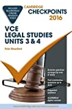 Cover of Cambridge Checkpoints VCE Legal Studies Units 3 and 4 2016 and Quiz Me More