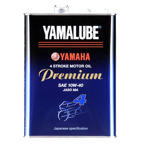 YAMAHA  ヤマハ  YAMALUBE  ヤマルーブプレミアム  10W-40  MA  部分合成油  4L  (4サイクル用) 90793-32411 HTRC3