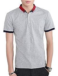Glestore(グラストア) ポロシャツ メンズ 半袖 テニスウェア ゴルフウェア スポーツウェ シャツ #MT0608